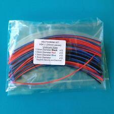 Heat Shrink Tubing 1.5 mm 4 Colours Heat Shrink Sleeve Wrap Tube Kit - HSK 2
