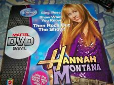 BRAND NEW SEALED DISNEY HANNAH MONTANA FAMILY DVD GAME MATTEL 6+ 2-4 PLAYERS