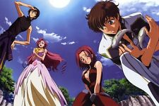 POSTER CODE GEASS LELOUCH OF REBELLION RURUSCIU NUNNALLY SUZAKU ANIME MANGA #5