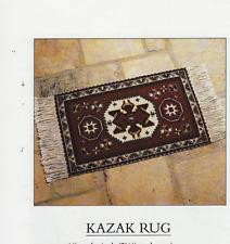 Kazak Alfombra Bolsa William Morris Beth Russell Costura Tapiz Bordado Gráfico