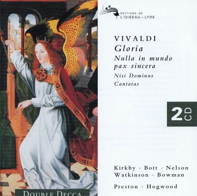 VIVALDI : GLORIA - MOTETS - CANTATAS, KIRKBY - BOTT - BOWMAN, ETC / 2 CD-SET
