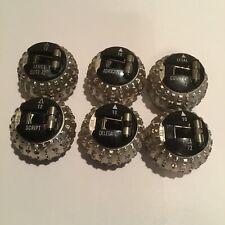 6 Ibm Selectric Font Balls Need Repair Free Shipping