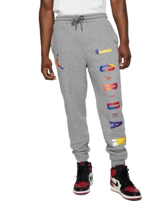 entrar India Por ahí  Air Jordan DNA Jumpman Jogging Sweat Pants Men's Medium Av0048 091 Grey  Jogger for sale online | eBay