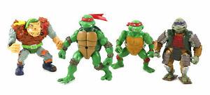 TMNT Vintage Action Figure Lot (Raphael, General Traag,Samurai Shogun Donatello)