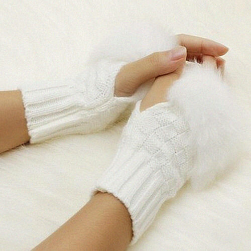 2018 Gloves Wrist Arm Warmer Gloves Fingerless Women Gloves Wrist New Winter