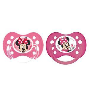 Dodie-paire De Anatomique Minnie Mouse Dummies-a64-pour 6+ Mois.-afficher Le Titre D'origine Performance Fiable