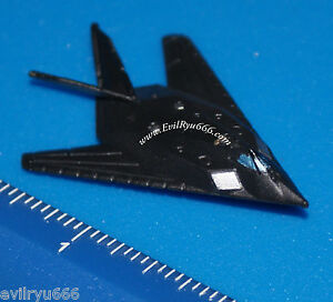 Military-Micro-Machines-1995-F-117-NIGHTHAWK-STEALTH-FIGHTER-JET-Galoob