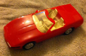 Ertl-1992-Corvette-Convertible-BRIGHT-RED-WHITE-Dealer-Promo-NIB-Beautiful-Car