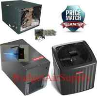 5 Ton 16 Seer 2 Stage Heat Pump Horizontal Dszc160601+mbvc2000+chpf4860d+heat+uv on sale