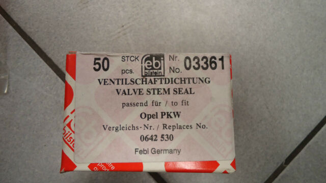 1 x Dichtring, Ventilschaft FEBI 03361 Opel Monza Kadett Commodore Rekord Manta