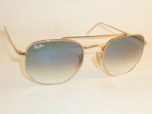 2613f8a6db New RAY BAN Marshal Sunglasses Gold Frame RB 3648 001 3F Gradient ...