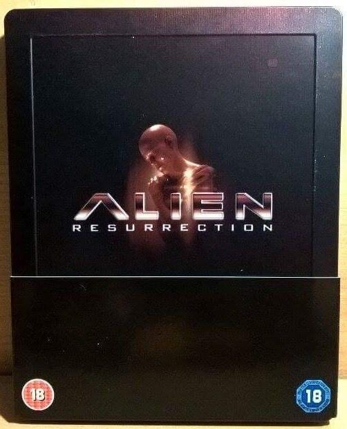 Alien Resurrection (Blu-ray Disc, 2011, Steelbook)