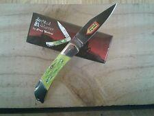 Frost Cutlery Steel Warrior VIPER Lockback Pocket Knife SW-102 KLJ Moss Green