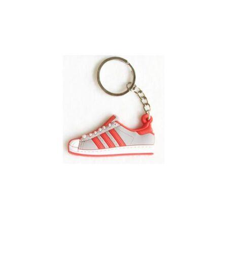 2D Adidas Originals Superstar Trainer Shoe Keyring Keychain Xmas Stocking Filler