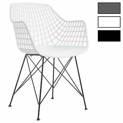 Esszimmerstuhl Retro Design Küchenstuhl Stühle Esszimmer 4er Set Kunststoff | eBay