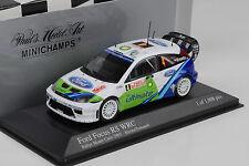 2005 Ford Focus RS WRC Rallye Monte Carlo Kresta Tomanek  Minichamps 1:43