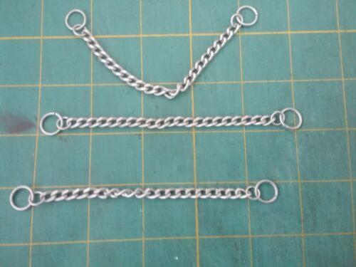 "Coat chain hanging loop silver metal finding fastener 4.25/""L 2 hole sewon"