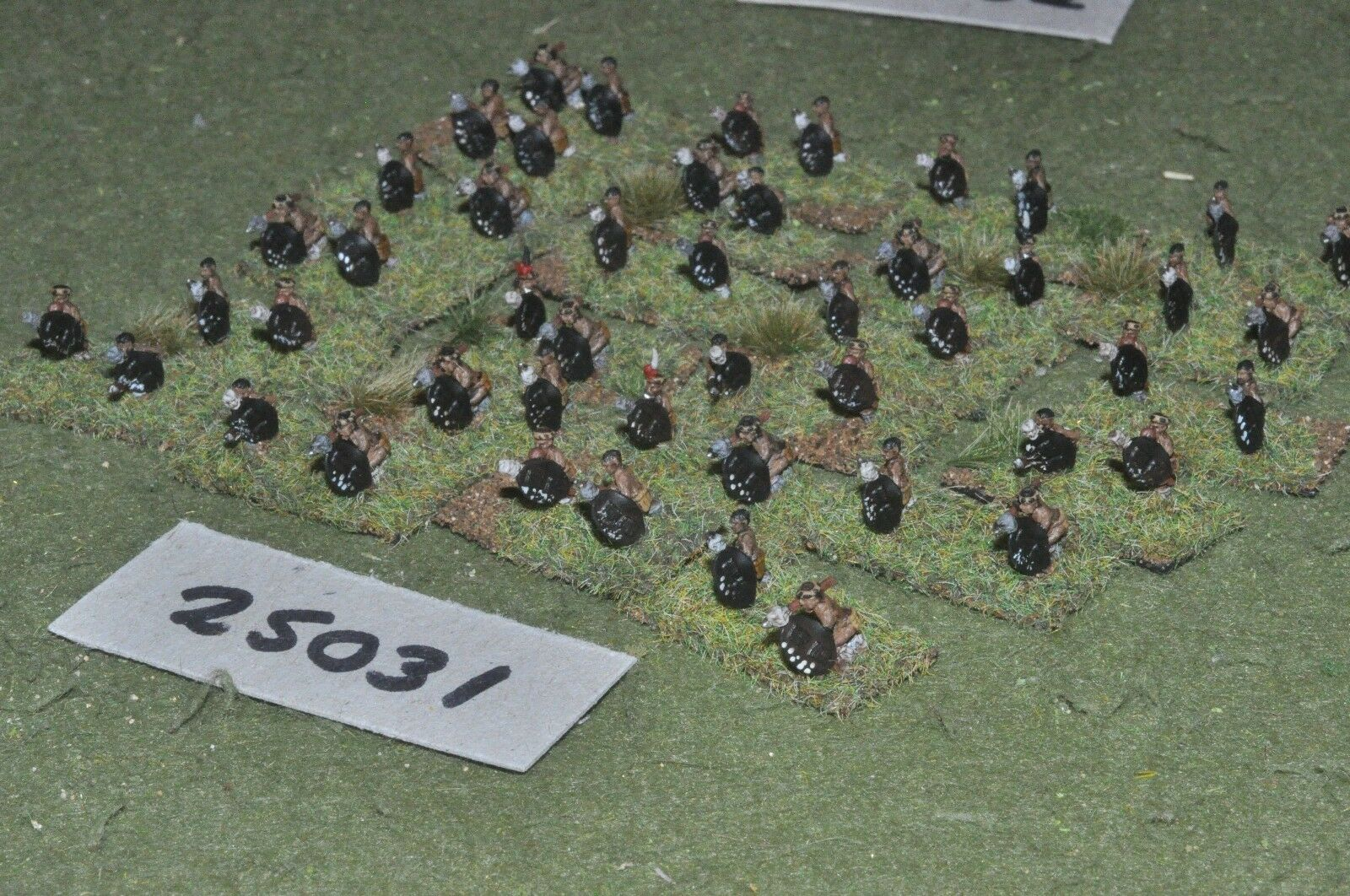 10mm colonial   zulu - warriors warriors warriors 48 figures - inf (25031) 433cd5