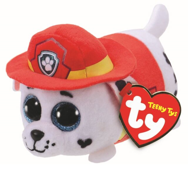 Ty Beanie Babies 42229 Teeny TYS Paw Patrol Marshall Dog for sale ... 6f2fe8c350f