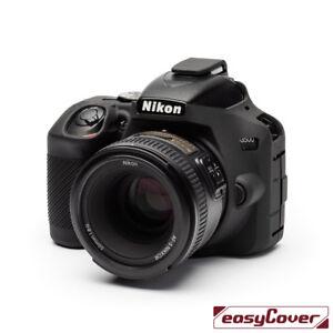 easyCover-Nikon-D3500-Camera-Case-Black-EA-ECND3500B-Silicone-FREE-US-SHIPPING