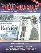 Standard Catalog of World Paper Money: Modern Issues 1961-Date-ExLibrary