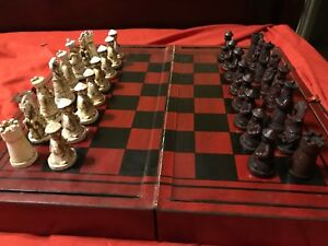 Themed Chess Set With Qin Dynasty