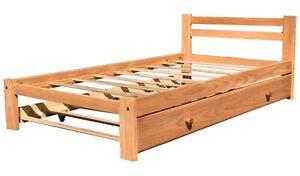 Amazonas-Twin-Size-Bed-amp-Trundle-Honey-Pine-Finish-Solid-Pine-Wood