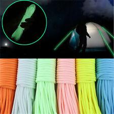Glow In the Dark Luminous Strand Para Parachute Rope Outdoor 50ft 5-6mm