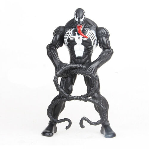 2pcs Marvel Universe Venom Action Figure Toys 6in Spider-man Series Doll Gift