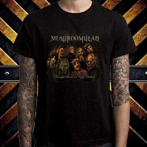 Mushroomhead Heavy Metal Rock Band Men/'s Black T-Shirt Size S to 3XL