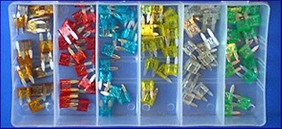 120 PIECE LARGE PLASTIC BLADE FUSE ASSORTMENT EUREKA GRAB KIT (FD-FUSE-PLASTIC)