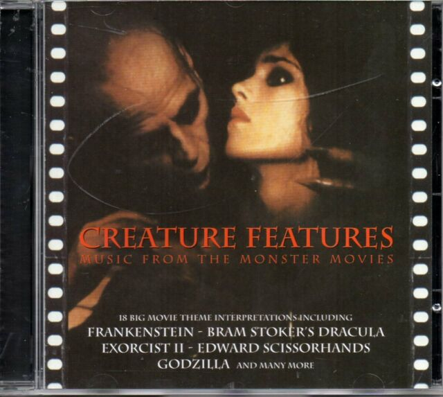 Creature Features - Music From The Monster Movies CD - New