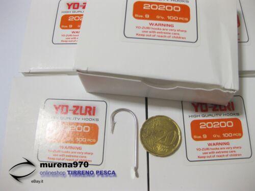 MU93 5 CONFEZIONE DA 100 AMI YO-ZURY SERIE 20200 n.9 PESCA