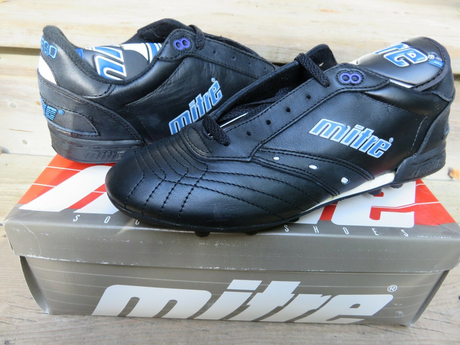 NOS Mitre Fuego 90 Soccer Size 10 Athletic Outdoor Soccer Cleats shoes Vintage
