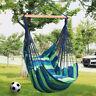 GreenWise® Swing Hanging Rope Hammock Chair Swing Seat + Storage Bag + 2 Pillows