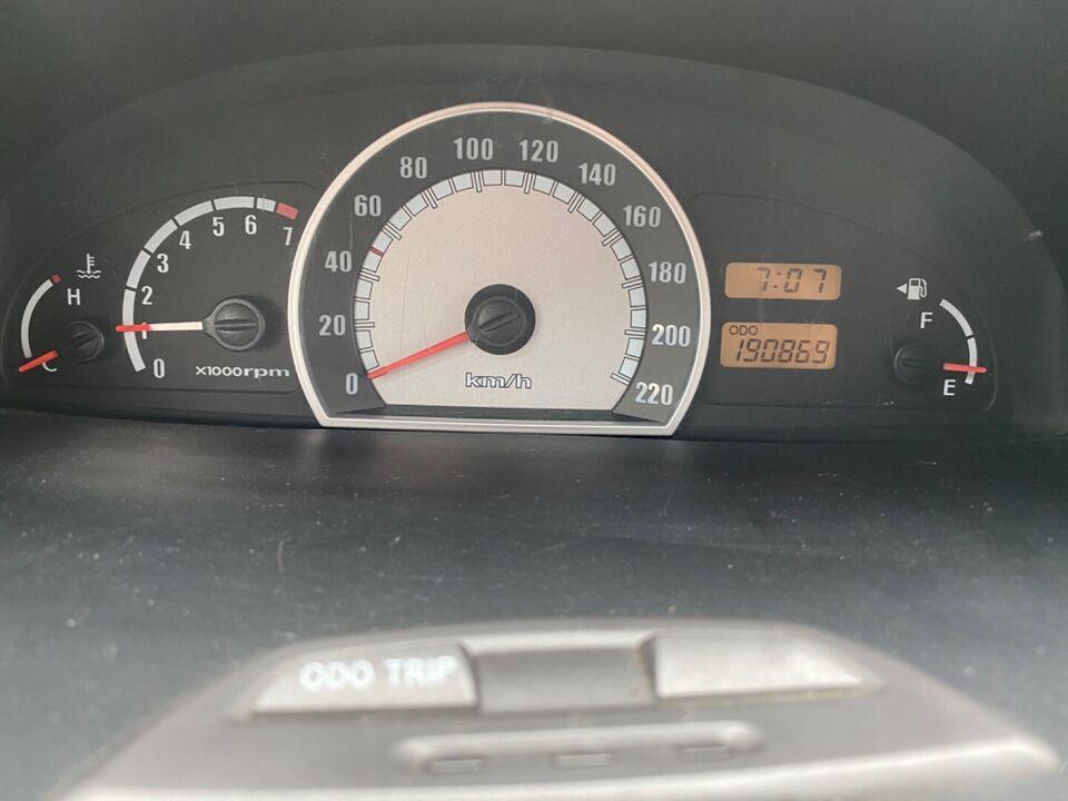 Hyundai Matrix 1,6 GL aut. Benzin aut. Automatgear modelår