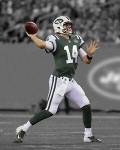 New York Jets SAM DARNOLD Glossy 8x10 Photo Spotlight Print Football ... 88799c236
