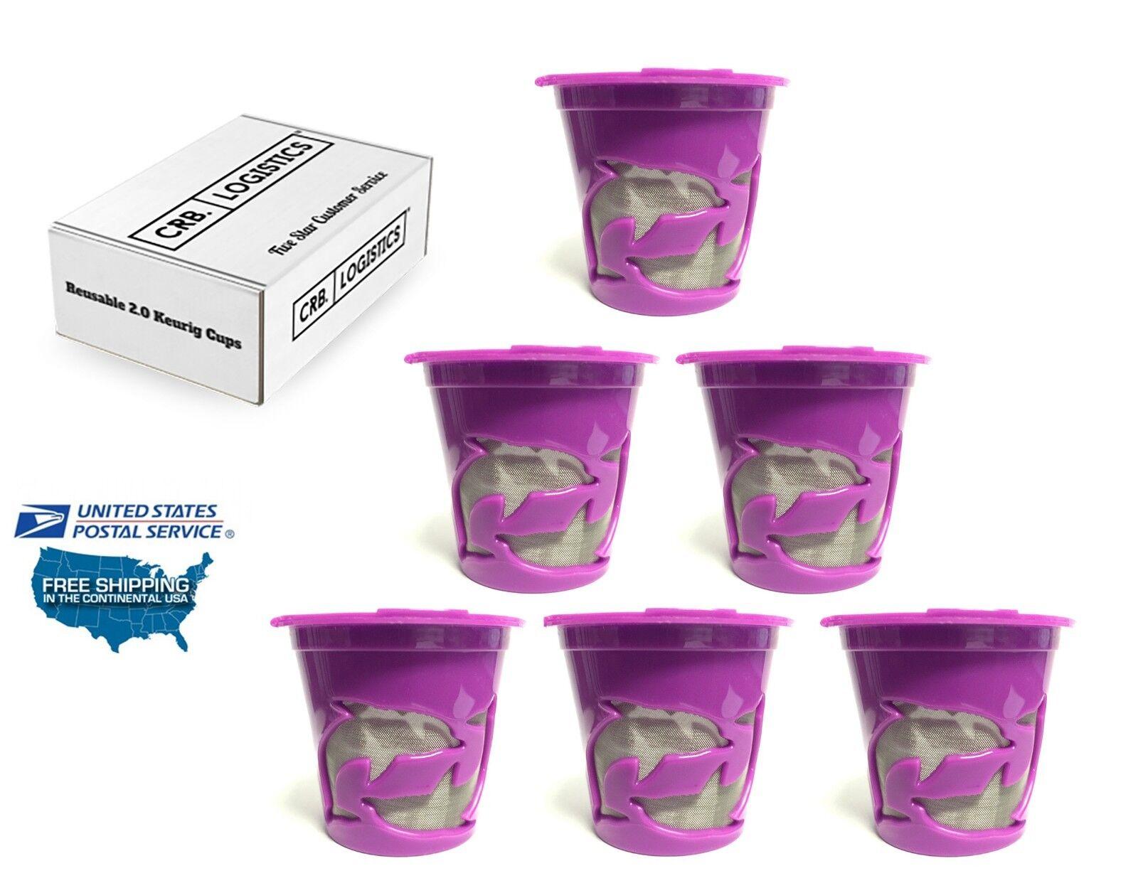 6 Reusable K cups