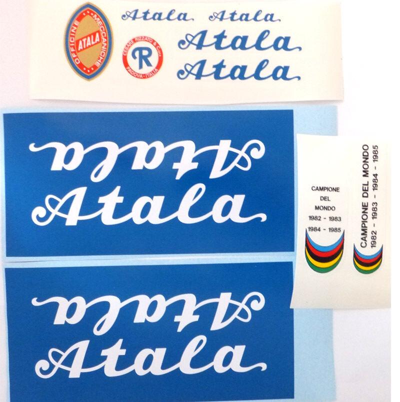 Atala decals set 3 for vintage restoration