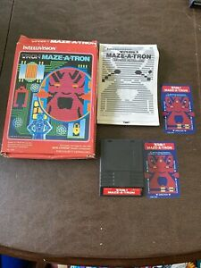 Tron-Maze-A-Tron-Intellivision-Video-Game-1982-Complete-Tested-USED