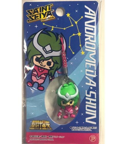 Saint Seiya x Panson Works Mini Figure Mascot Netsuke Strap Andromeda Shun