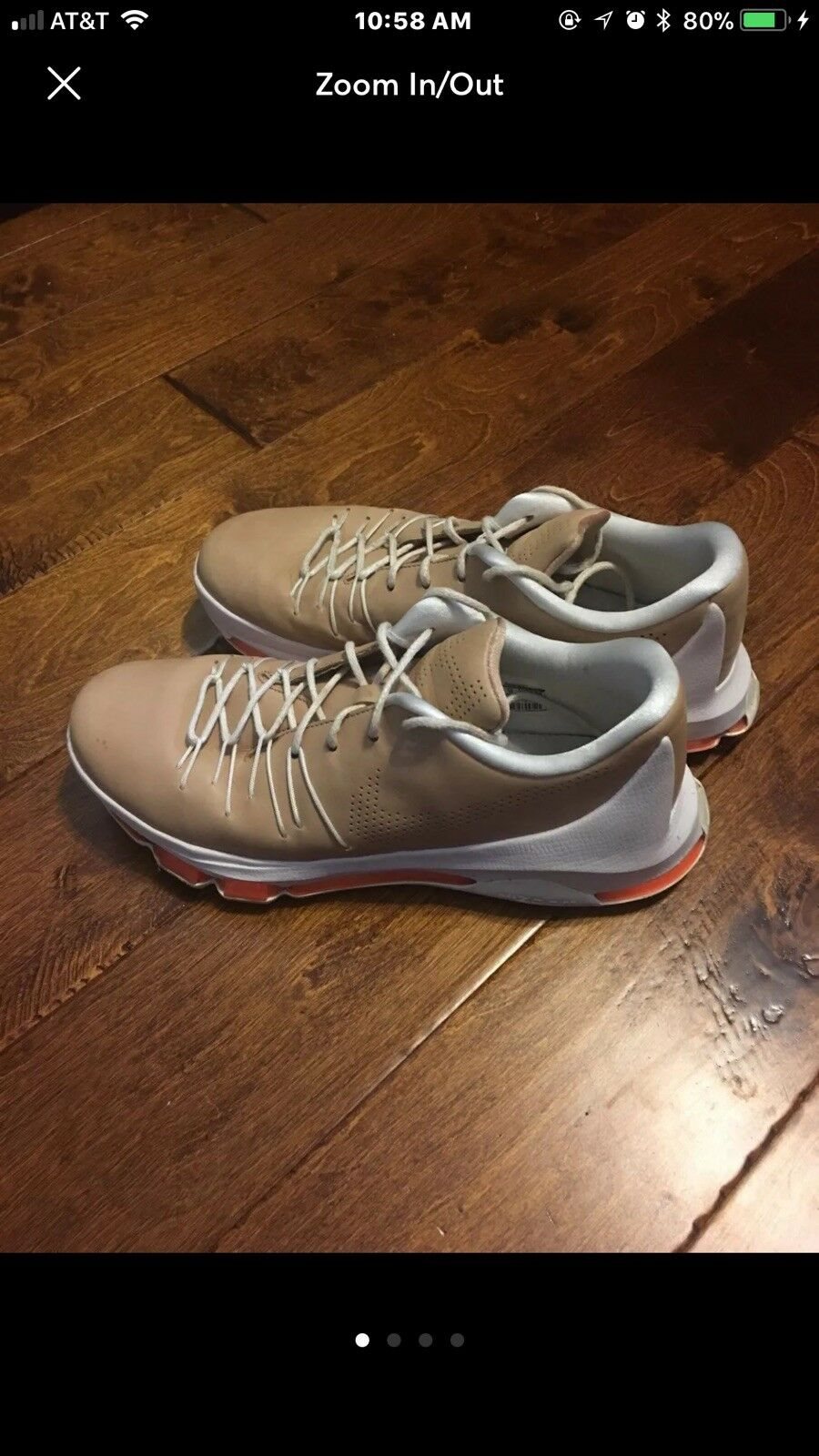 "NIKE KD (KEVIN DURANT) 8 EXT ""VACHETTA TAN"".. Men 11 MSRP   200"