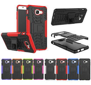 brand new 59060 2bd44 Details about For Samsung Galaxy J7 Max Shockproof Hybrid Kickstand Armor  Case Hard Back Cover
