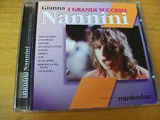 GIANNA NANNINI I GRANDI SUCCESSI CD MINT--- MUSICATUA