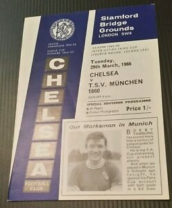 Chelsea-v-T-S-V-Munchen-Programme-29-03-66