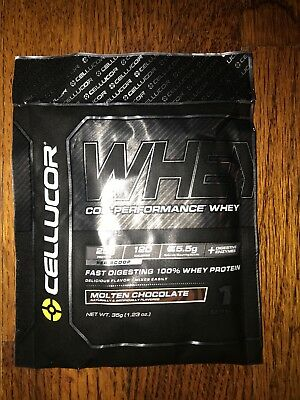 Cellucor Whey Protein 25g Packets  25 Servings Chocolate ::exp:: | eBay