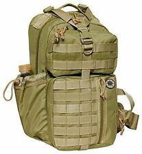 "Nexpak 18"" Tactical Messenger Sling Bag Outdoor Travel Hiking Backpack TL318-TAN"