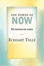 New, The Power of Now: 50 Inspiration Cards, Eckhart Tolle, Book