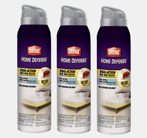 Details About 3 Ortho Home Defense Insect 18oz Bed Bugs Fleas Ticks Fast Acting 0192910