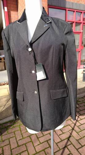Sherwood Forest Perlino Ladies Competition Show Jacket Black UK16 UK18